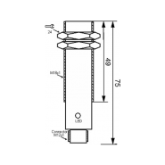 سنسور کد IPS-205-CA-18-VI-S4