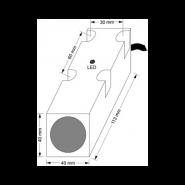 سنسور کد IPS-320-CN-R40-VI-T