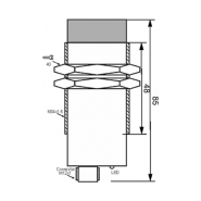 سنسور کد IPS-320-CN-34-S4
