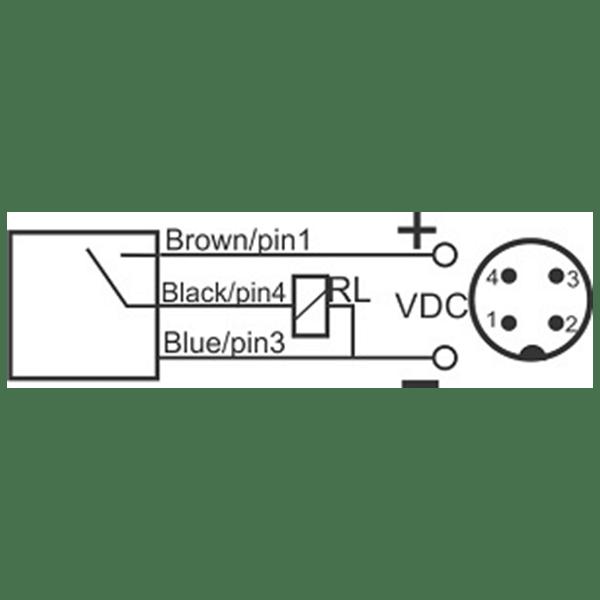سنسور کد IPS-302-CN-18-HP-S4