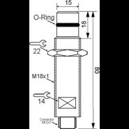 سنسور کد IPS-302-CP-18-HP-S4